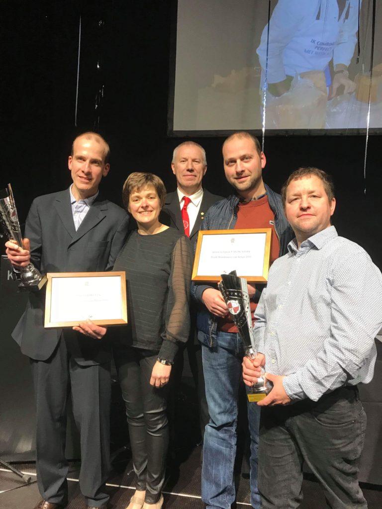 Prijsuitreiking van de beste slagers van België 2018 op Eurobeef op Meat Expo Kortrijk - foto 2