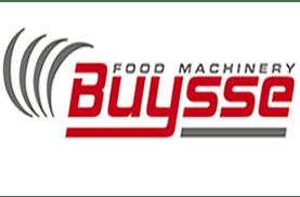Logo Buysse Food Machinery staat voor ervaring, kwaliteit en service